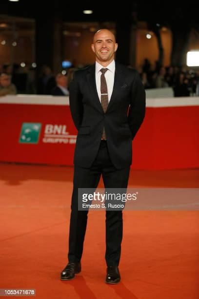 Tom Edmunds walks the red carpet ahead of the Dead In A Week Or Give Your Money Back screening during the 13th Rome Film Fest at Auditorium Parco...