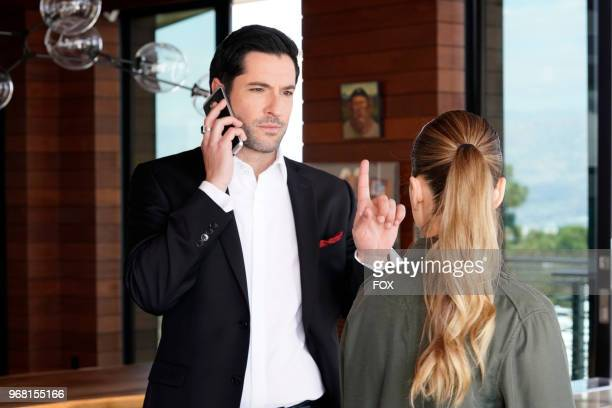 Tom Ellis and Lauren German in the Quintessential Deckerstar episode of LUCIFER airing Monday May 7 on FOX Photo by FOX Image Collection via Getty...