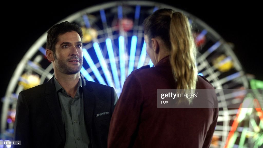 Tom Ellis and Lauren German in the The Good, the Bad and the Crispy season finale episode of LUCIFER airing Monday, May 29 (9:01-10:00 PM ET/PT) on FOX.