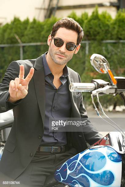 Tom Ellis in the Favorite Son episode of LUCIFER airing Monday Feb 29 on FOX