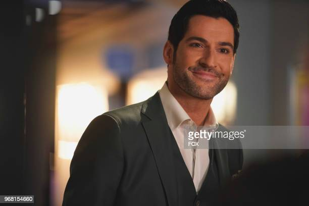 Tom Ellis in the Let Pinhead Sing episode of LUCIFER airingMonday March 12 on FOX Photo by FOX Image Collection via Getty Images
