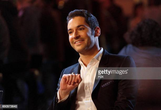 Tom Ellis in the Love Handles episode of LUCIFER airing Monday Jan 23 on FOX