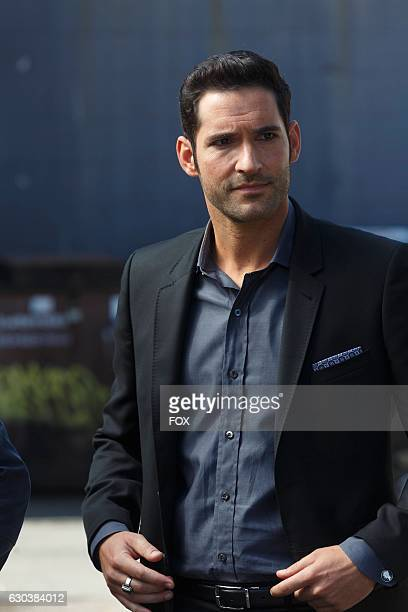 Tom Ellis in the My Little Monkey episode of LUCIFER airing Monday Nov 7 on FOX