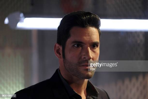 Tom Ellis in the Off The Record episode of LUCIFER airing Monday Nov 13  on FOX