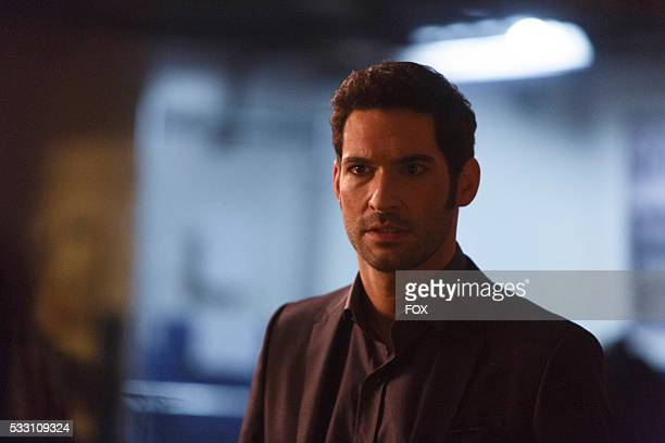 Tom Ellis in the Take Me Back To Hell season finale episode of LUCIFER airing Monday April 25 on FOX