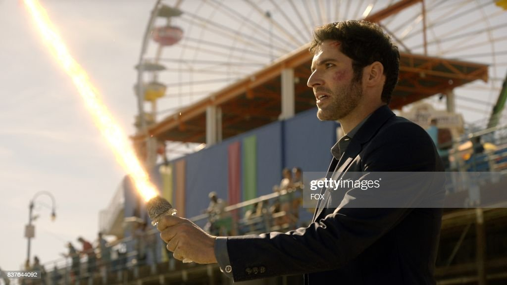 Tom Ellis in the The Good, the Bad and the Crispy season finale episode of LUCIFER airing Monday, May 29 (9:01-10:00 PM ET/PT) on FOX.