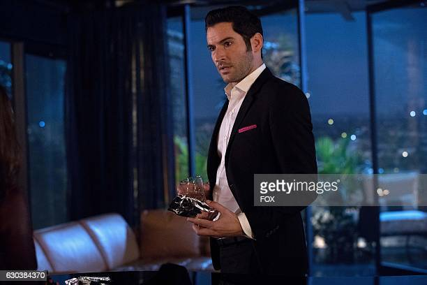 Tom Ellis in the Trip To Stabby Town episode of LUCIFER airing Monday Nov 14 on FOX