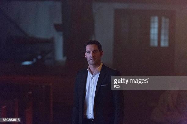 Tom Ellis in the Weaponizer episode of LUCIFER airing Monday Oct 24 on FOX
