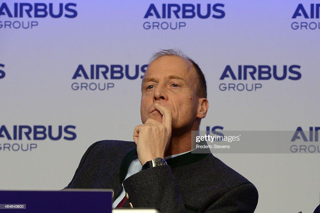 Airbus Group :  Annual Press Conference At Vier Jahreszeiten Kempinski Hotel In Munich : News Photo