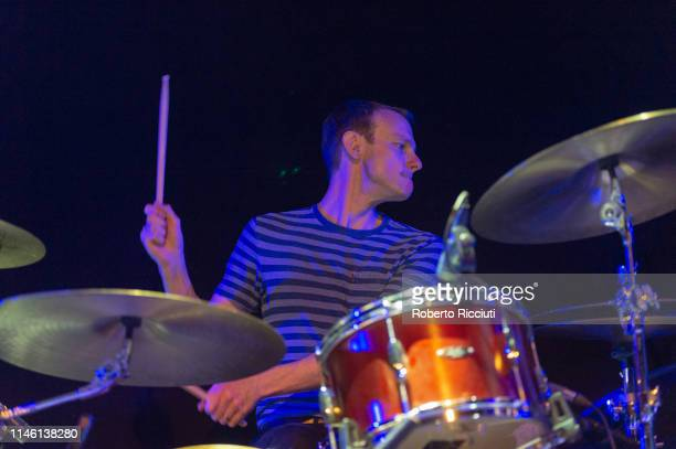 Tom English of Maximo Park performs onstage at The Liquid Room on May 24, 2019 in Edinburgh, Scotland.