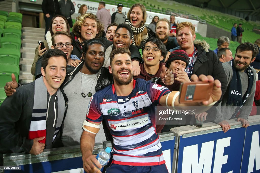 Super Rugby Rd 8 - Rebels v Brumbies : News Photo
