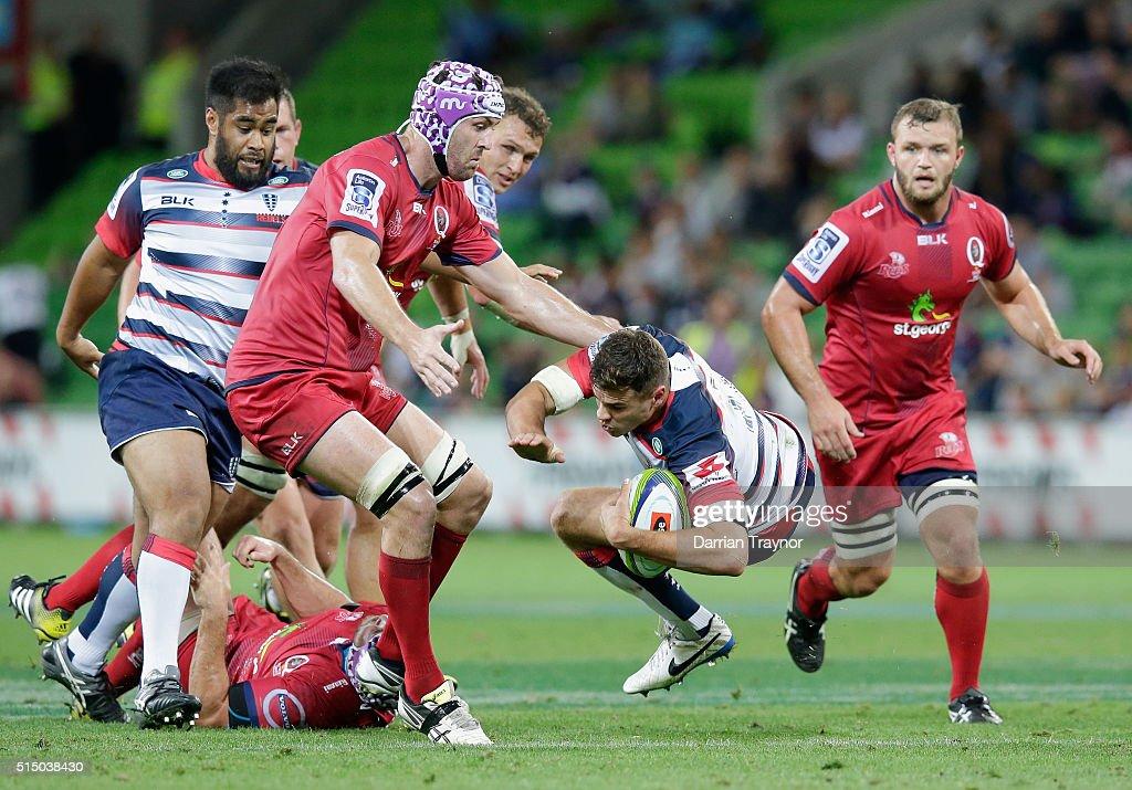 Super Rugby Rd 3 - Rebels v Reds