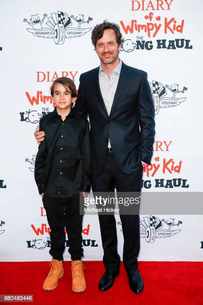 Tom Everett Scott appears at the premiere of Diary of a Wimpy Kid The Long Haul at the Indianapolis Motor Speedway on May 12 2017 in Indianapolis...