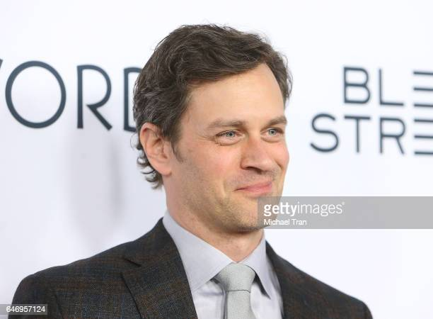 Tom Everett Scott arrives at the Los Angeles premiere of The Last Word held at ArcLight Hollywood on March 1 2017 in Hollywood California