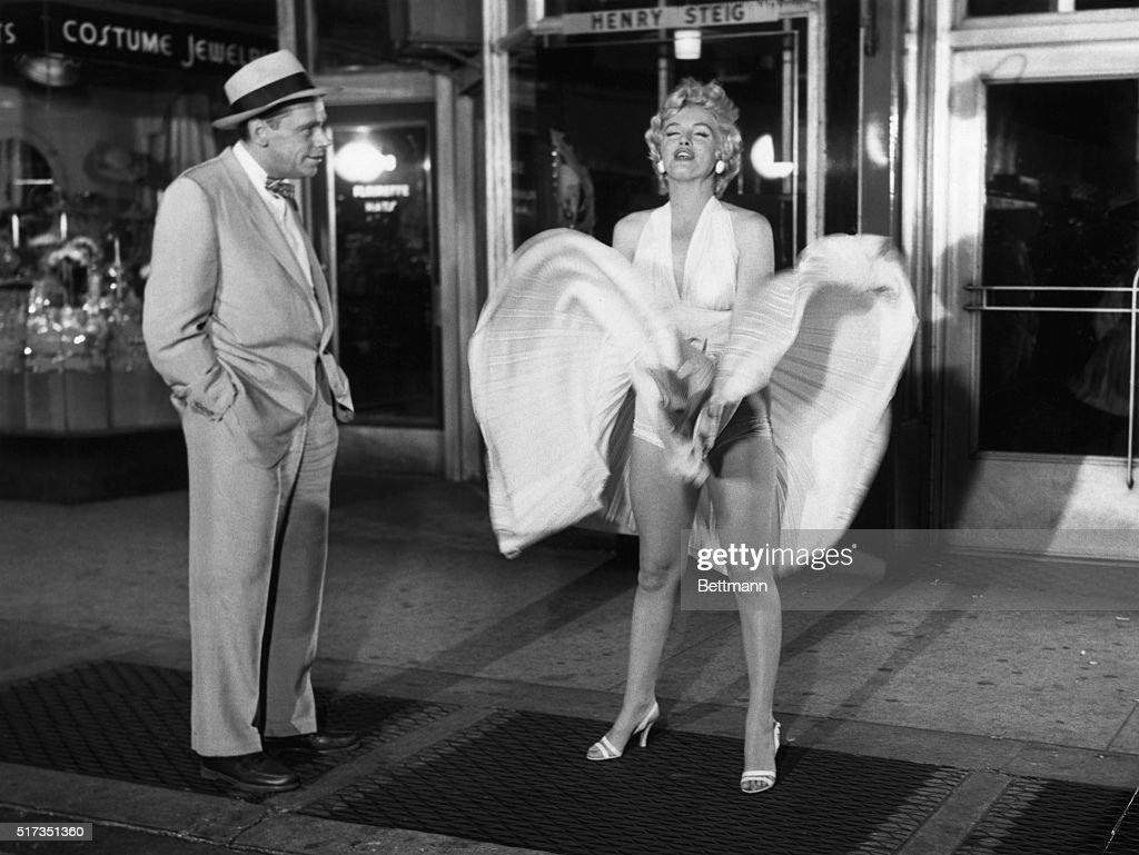 Marilyn Monroe in The Seven Year Itch : News Photo