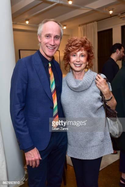 Tom Faulkner and Gail ShieldsMiller attend Tom Faulkner at Angela Brown Ltd on October 18 2017 in New York City