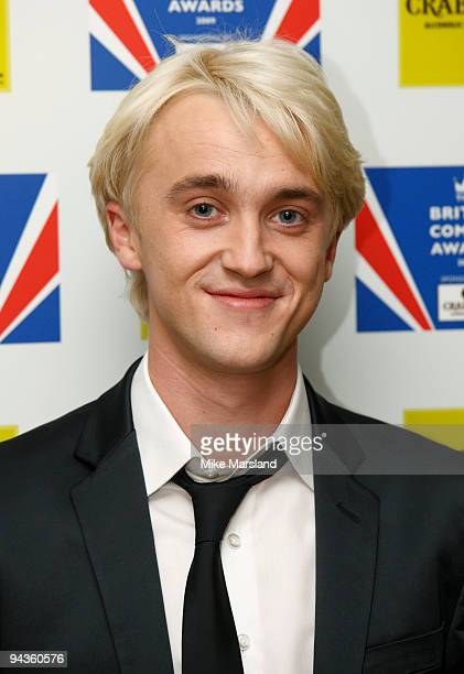 Tom Felton attends the British Comedy Awards on December 12 2009 in London England