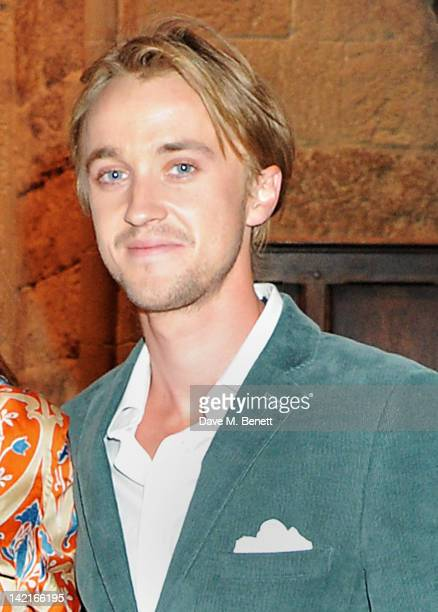 Tom Felton attends the Grand Opening of the Warner Bros Studio Tour London The Making of Harry Potter on March 31 2012 in Watford England