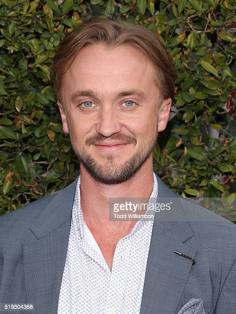Tom Felton attends the Opening Of 'The Wizarding World Of Harry Potter' at Universal Studios Hollywood on April 5 2016 in Universal City California