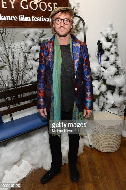 Tom Felton attends the 'Ophelia' after party at Sundance Film Festival 2018 at The Grey Goose Blue Door on January 22 2018 in Park City Utah
