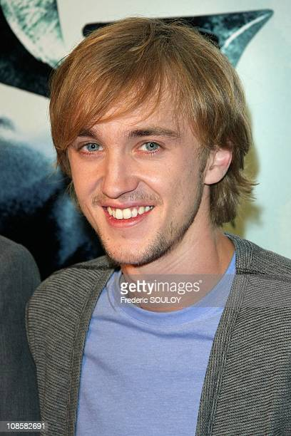 Tom Felton in Paris France on June 09 2009