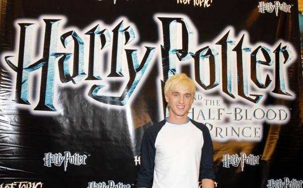 Photos Et Images De Tom Felton Promotes Harry Potter The Half Blood Prince Getty Images