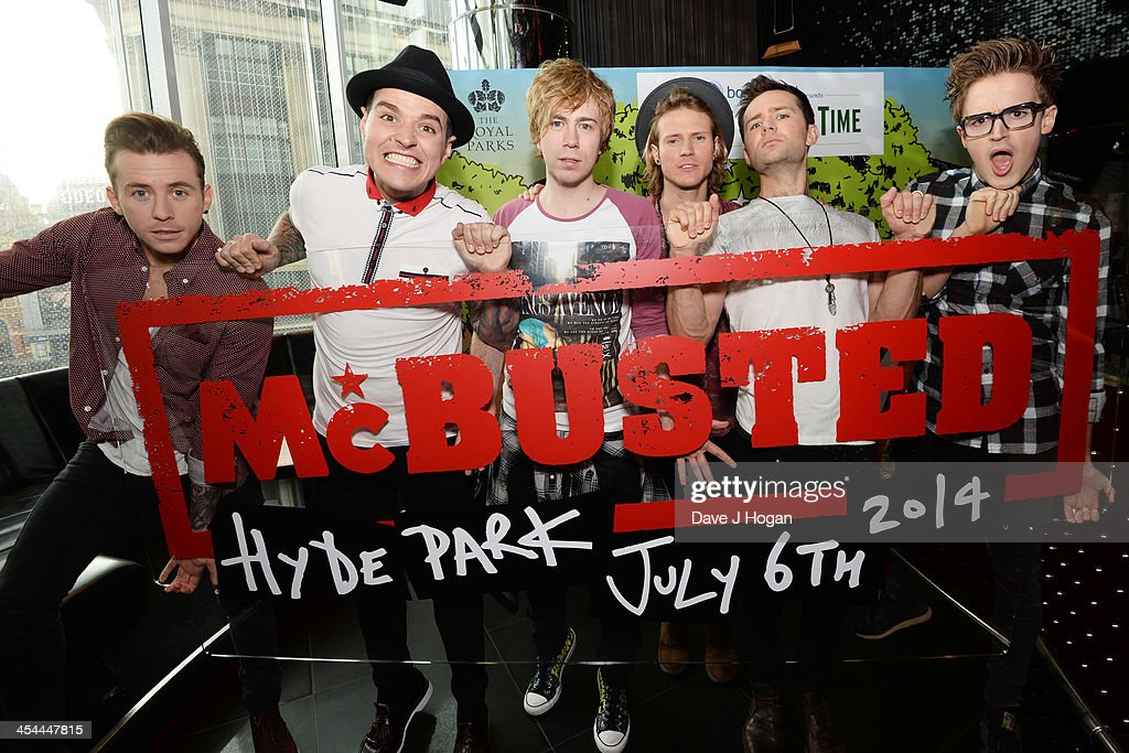 McBusted - Photocall : News Photo