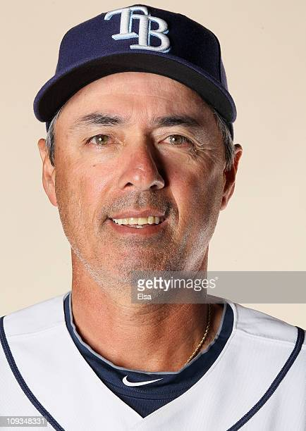 Tom Foley of the Tampa Bay Rays poses for a portrait during the Tampa Bay Rays Photo Day on February 22 2011 at the Charlotte Sports Complex in Port...