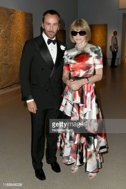 Tom Ford and Anna Wintour attend the CFDA Fashion Awards at the Brooklyn Museum of Art on June 03 2019 in New York City