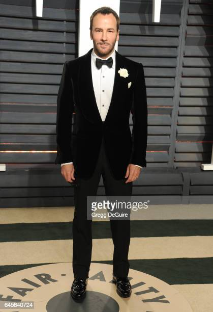 Tom Ford arrives at the 2017 Vanity Fair Oscar Party Hosted By Graydon Carter at Wallis Annenberg Center for the Performing Arts on February 26 2017...