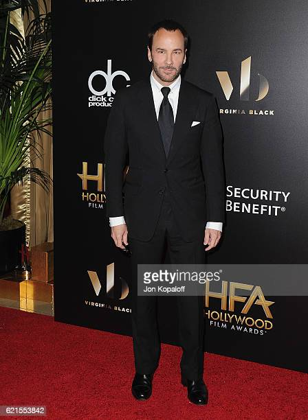 Tom Ford arrives at the 20th Annual Hollywood Film Awards at the Beverly Hilton Hotel on November 6 2016 in Los Angeles California