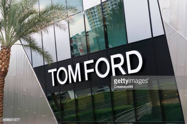 tom ford at citycenter - tom ford designer label stock photos and pictures
