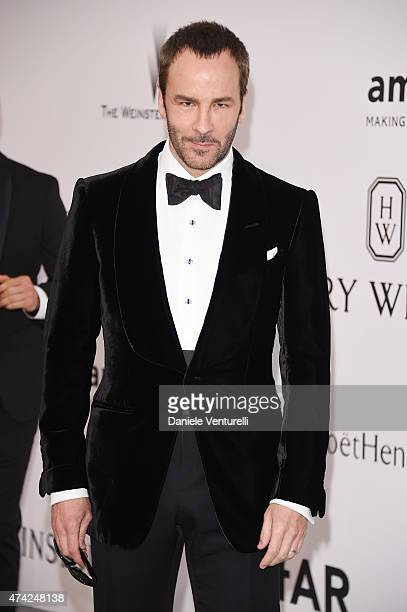 Tom Ford attends amfAR's 22nd Cinema Against AIDS Gala Presented By Bold Films And Harry Winston at Hotel du CapEdenRoc on May 21 2015 in Cap...
