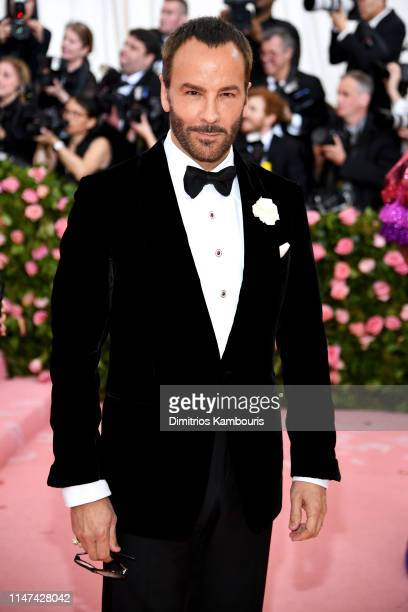 Tom Ford attends The 2019 Met Gala Celebrating Camp Notes on Fashion at Metropolitan Museum of Art on May 06 2019 in New York City