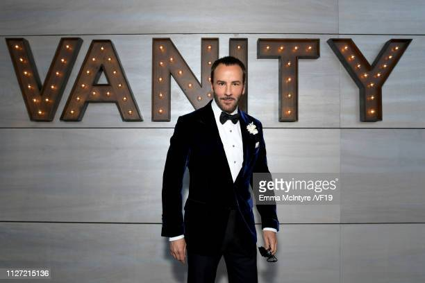 Tom Ford attends the 2019 Vanity Fair Oscar Party hosted by Radhika Jones at Wallis Annenberg Center for the Performing Arts on February 24 2019 in...