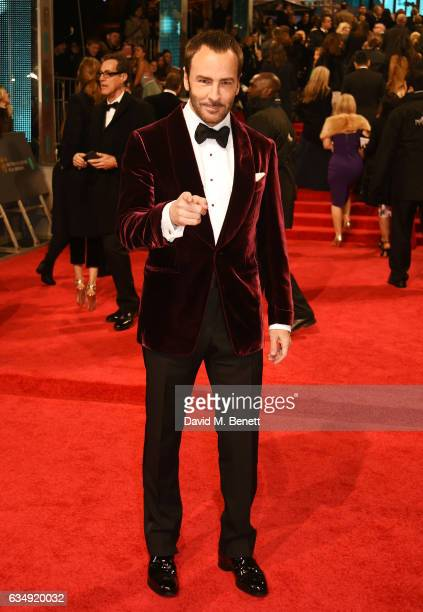 Tom Ford attends the 70th EE British Academy Film Awards at Royal Albert Hall on February 12, 2017 in London, England.