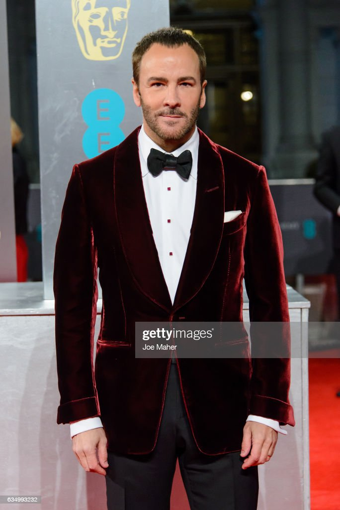 Tom Ford attends the 70th EE British Academy Film Awards (BAFTA) at Royal Albert Hall on February 12, 2017 in London, England.