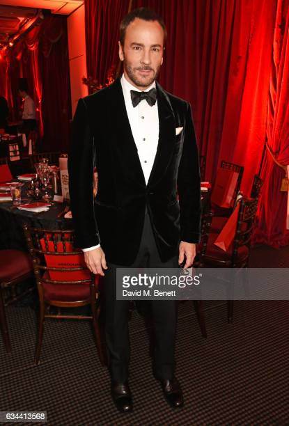 Tom Ford attends the BAFTA 2017 Film Gala Dinner at BAFTA Piccadilly on February 9 2017 in London England