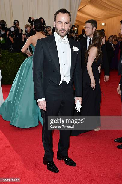 Tom Ford attends the Charles James Beyond Fashion Costume Institute Gala at the Metropolitan Museum of Art on May 5 2014 in New York City