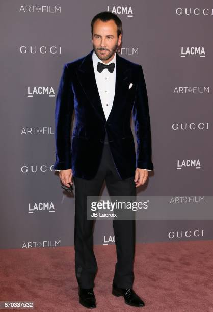 Tom Ford attends the LACMA Art + Film Gala honoring Mark Bradford and George Lucas on November 04, 2017 in Los Angeles, California.
