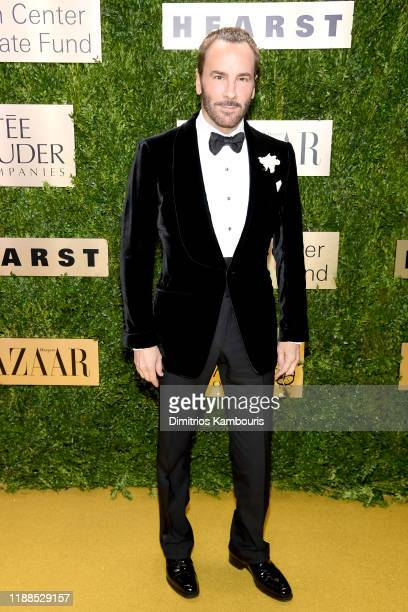 Tom Ford attends the Lincoln Center Corporate Fashion Gala honoring Leonard A Lauder at Alice Tully Hall on November 18 2019 in New York City