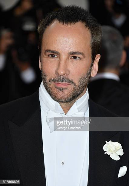 Tom Ford attends the 'Manus x Machina: Fashion in an Age of Technology' Costume Institute Gala at the Metropolitan Museum of Art on May 2, 2016 in...