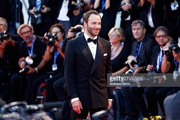 Tom Ford attends the premiere of 'Nocturnal Animals' during the 73rd Venice Film Festival at Sala Grande on September 2 2016 in Venice Italy