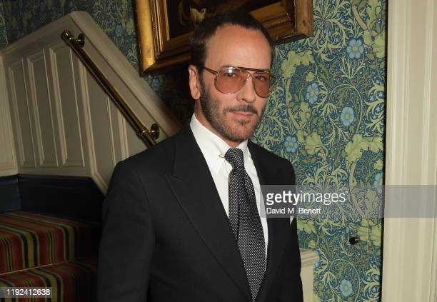 Tom Ford attends the Tom Ford Beauty Beau Du Jour event at Marks Club on January 7, 2020 in London, England.