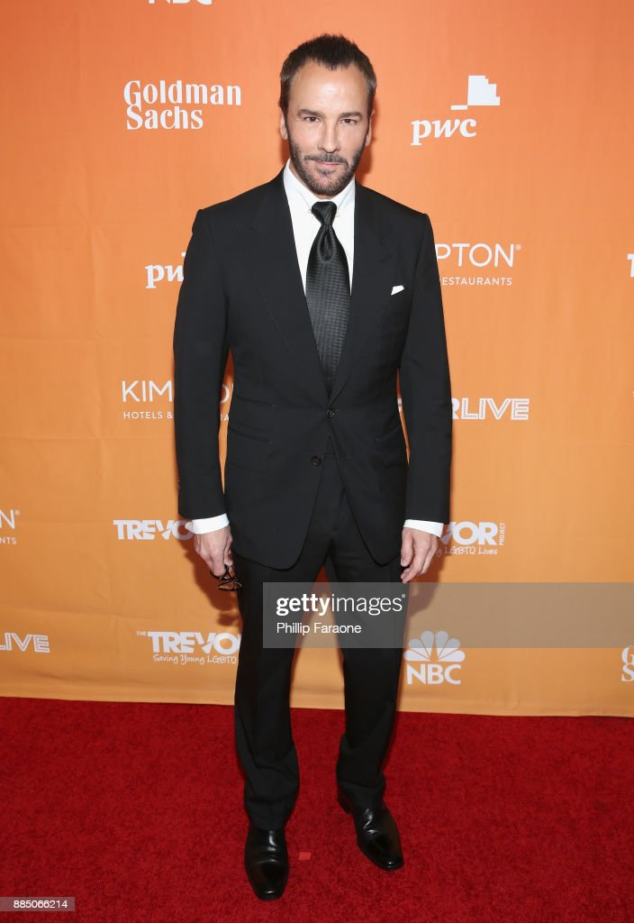Tom Ford attends The Trevor Project's 2017 TrevorLIVE LA Gala at The Beverly Hilton Hotel on December 3, 2017 in Beverly Hills, California.