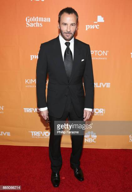 Tom Ford attends The Trevor Project's 2017 TrevorLIVE LA Gala at The Beverly Hilton Hotel on December 3 2017 in Beverly Hills California
