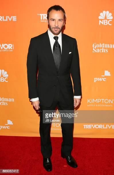 Tom Ford attends The Trevor Project's 2017 TrevorLIVE LA on December 3 2017 in Beverly Hills California