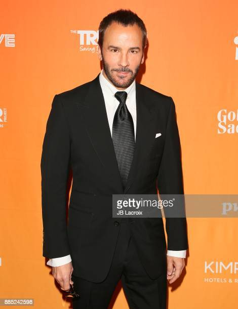 Tom Ford attends The Trevor Project's 2017 TrevorLIVE LA on December 3 2017 in Beverly Hills California