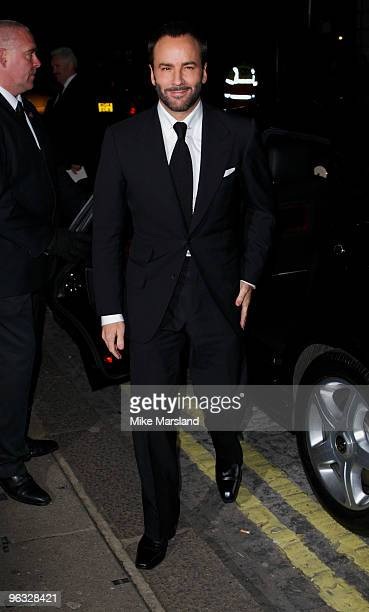 Tom Ford attends the UK Film Premiere of A Single Man at the Curzon Mayfair on 1st February 2009 in London, England.