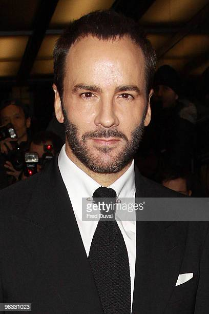 Tom Ford attends the UK film premiere of 'A Single Man' at the Curzon Mayfair in London on February 1 2010 in London England
